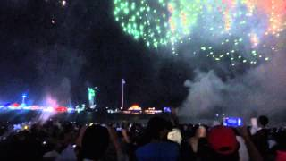 UAE 43rd National Day Celebrations(Fireworks) HD 720p 01 December 2014 (Abu Dhabi Corniche) part 2/2