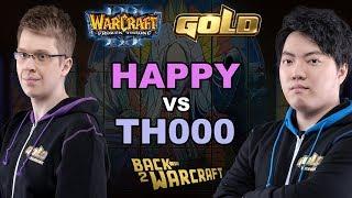 WC3 - WGL Winter '19 - Semifinal: [UD] Happy vs. TH000 [HU]