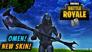 Fortnite New Skin OMEN! Faits saillants gameplay!