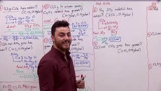 45)Görkem ŞAHİN - Mol Kütle İlişkisi Soru Çözümü - I (TYT-Kimya) 2020