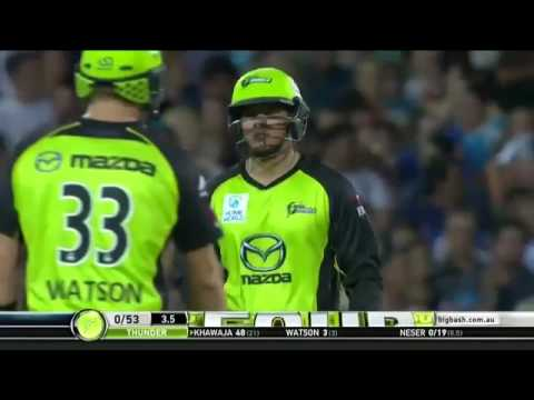 Usman Khawaja 100 off 55 balls Big Bash
