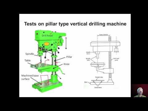 mod11lec2-Geometrical tests on pillar type drilling machine