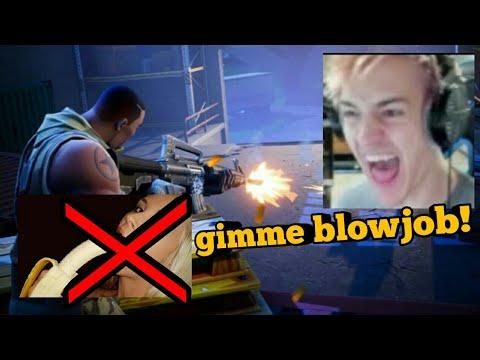 Ninja blowjob