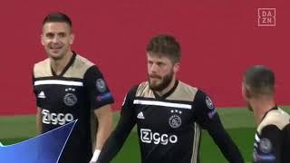 Lasse Schöne mit Traumfreistoß gegen Real Madrid | DAZN Champions League Flashback