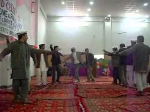 hazara university ,chitrali dance