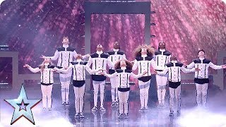 Dancing superstars DVJ are TRANSFORMING in the BGT Final!   The Final   BGT 2018