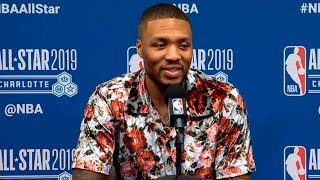 Damian Lillard press conference after All-Star Game | Team LeBron vs Team Giannis