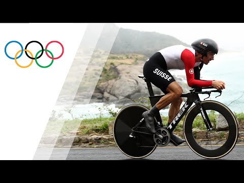 Cancellara of Switzerland wins gold in Men's Cycling Road Time Trial