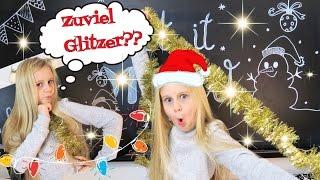 Glitzer/Winter🎄ROOMTOUR WEIHNACHTEN🎄DIY umdekorieren💘coole Mädchen Zöpfe&Frisuren