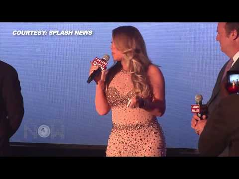 Mariah Carey Nude & Bedazzled in Las Vegas
