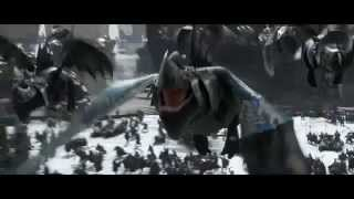 'How to Train Your Dragon '2 Trailer XD slow motion