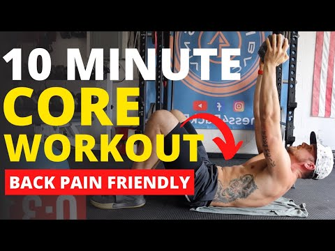 Bodyweight Ab Workout Follow Along AWESOME BACK PAIN FRIENDLY CORE WORKOUT!