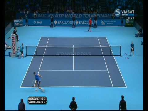 PDS: Djokovic vs Soderling: ATP Masters 2009: Full Tiebreak, First Set.