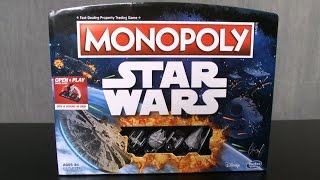 Monopoly: Star Wars Edition Game from Hasbro