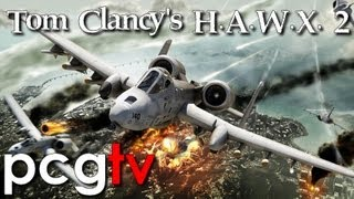 Tom Clancy's HAWX 2 Gameplay (PC HD)