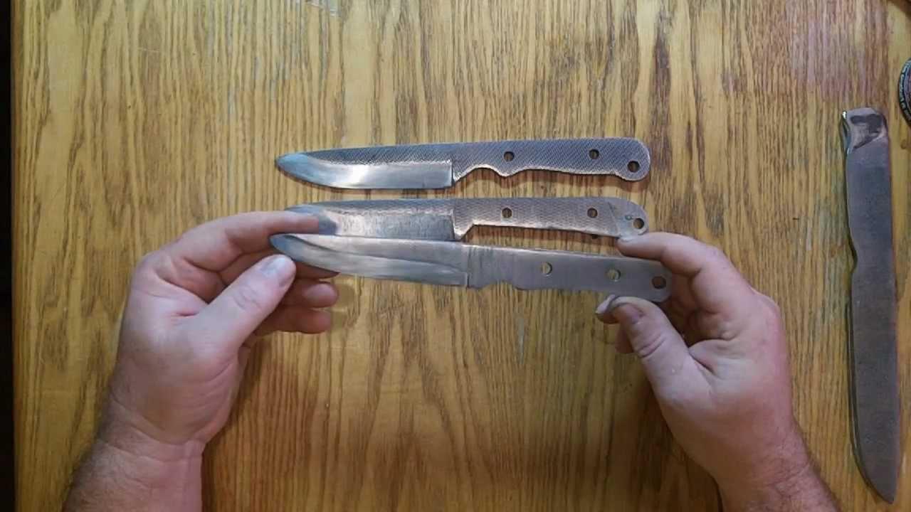 HOMEMADE FILE KNIFE & Sugarcreek Forge Build Along - YouTube