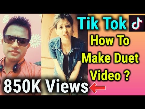 How To Make DUET ON Musically | How To Create Duet In One Minute Full Details in HINDI