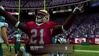 TED GINN AND FRANK GORE ARE AMAZING - MADDEN 11 PS2 49ERS FRANCHISE