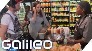 Burger im Supermarkt: So kauft man in Südafrika und China ein | Galileo | ProSieben