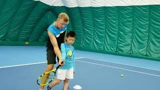 Beijing tennis school for kids 6 y.o.