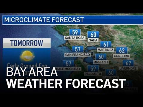 Bay Area Forecast: Early Fog Chance & Rain Outlook