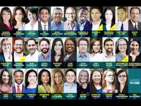 FOUR MORE Justice Democrats Mount Progressive Primaries