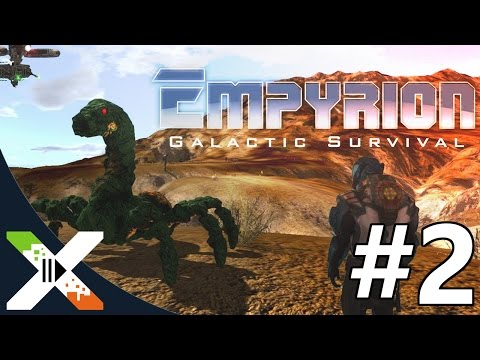 Empyrion Galactic Survival #2 w/Friends :: Mining on the moon