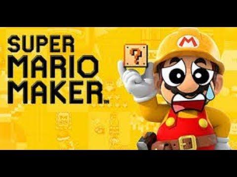 Mario maker build to 100 followers!!!! Live stream