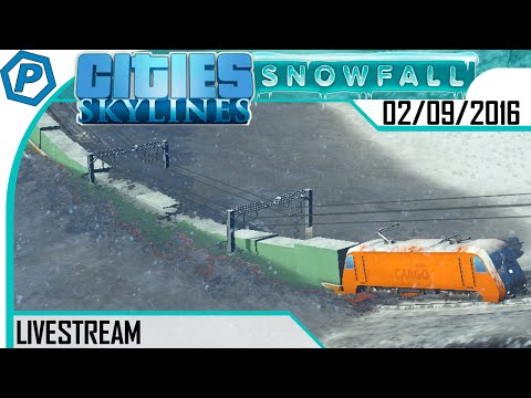 Cities Skylines Live | Train Jam | Isolated City | Livestream | 2016-09-02