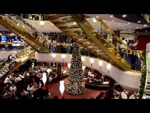 Cruise MSC Splendida 2018 (UAE+Oman), Atrium, La Piazzetta, Splendida Bar