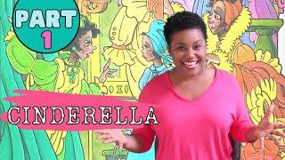 CINDERELLA a Children's Fairytale Retold by Fred Crump Jr. (Part 1)   Kaira Inspires
