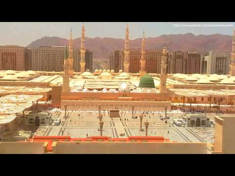 Heart touching naat In front of Masjid Al Nabawi Medina ♥ ᴴᴰ