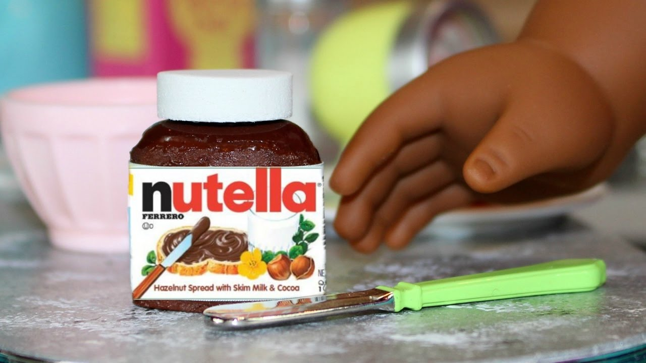 Diy American Girl Doll Nutella