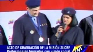Fernández encabeza acto de graduación de 189 estudiantes de la Misión Sucre en Cumaná