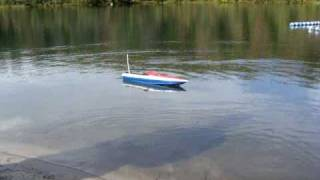 RC truck w/boat and trailer