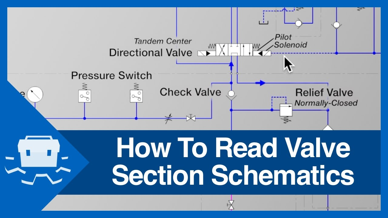 hight resolution of how to read valve section schematics youtube air pilot valves schematics