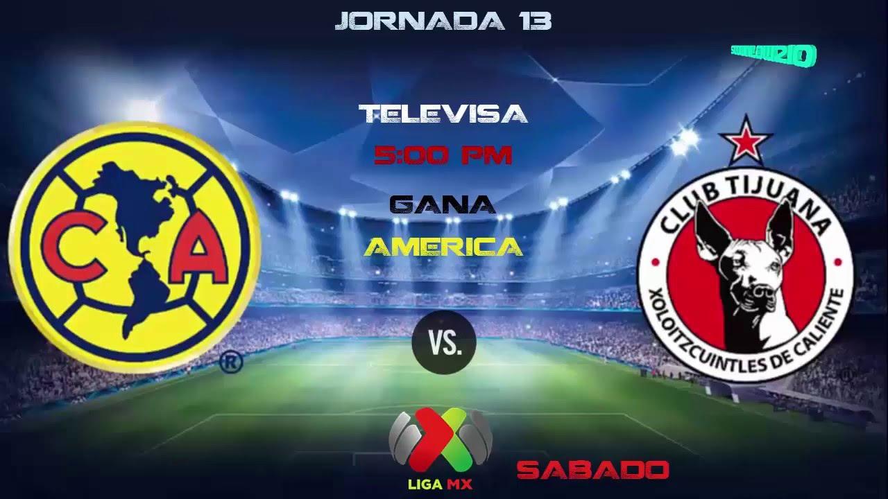 Jornada 13 Liga MX 2016 Pronosticos & Calendarios