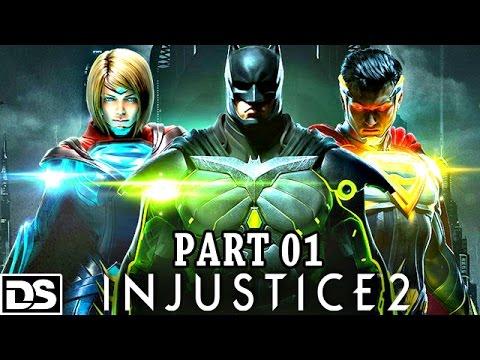 Injustice 2 Gameplay German PS4 - Lets Play Injustice 2 Deutsch DerSorbus Walkthrough Story Mode