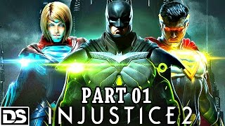 Injustice 2 Gameplay German PS4 - Batman v Superman - Let's Play Injustice 2 Deutsch Part 1