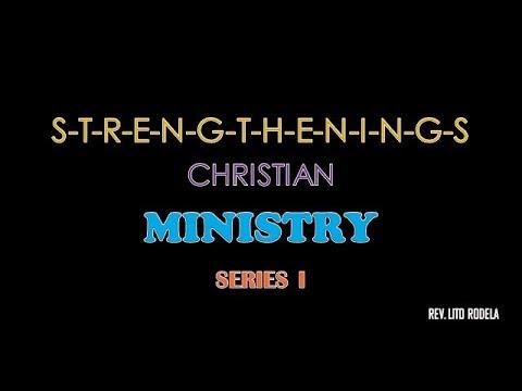 Strengthening Christian Ministry