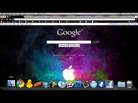How To Get A Background For The Google Homepage! - YouTube