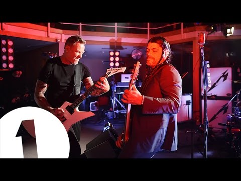 Metallica - Hardwired live for BBC Radio 1