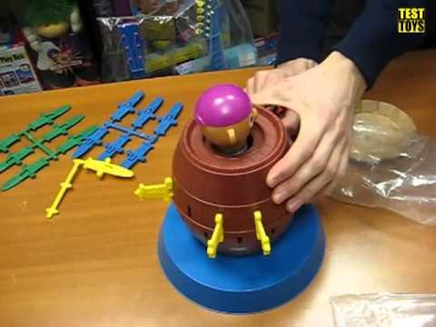 Tomy Настольная детская игра Хитрый пират 7028 Unboxing
