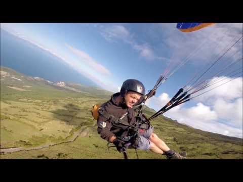 Paragliding- Azores: Pico Island
