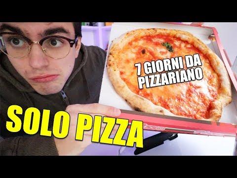 HO MANGIATO SOLO PIZZA PER UNA SETTIMANA (esperimento pizzariano)