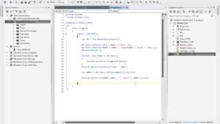 Видеокурс Введение в Entity Framework 5. Обзор.