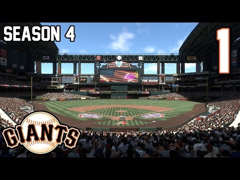 MLB The Show 17 - Part 1 Tug Dick Season 4 Let's Play