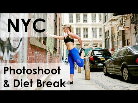 Travel Vlog Pt 2 | NYC, Photoshoot, Diet break