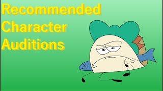 Empfohlene Charakter Auditions (Fan BFDI-Animation)