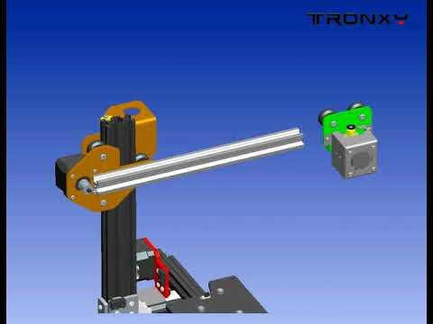 Tronxy X1 Desktop 3D Printer assemble guide